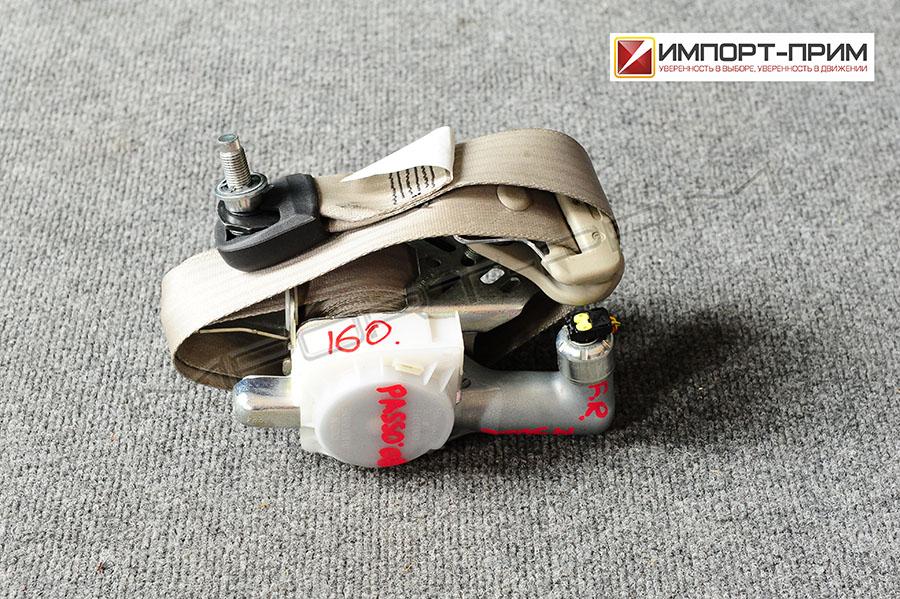 Ремень безопасности Toyota PASSO SETTE M502E 3SZVE Фото 1