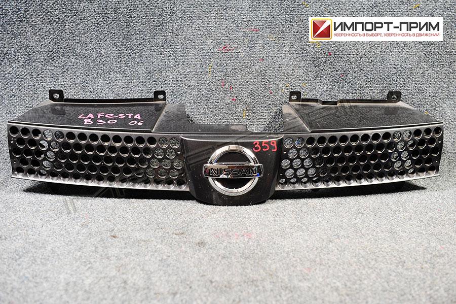 Решетка радиатора Nissan LAFESTA B30 MR20DE Фото 1
