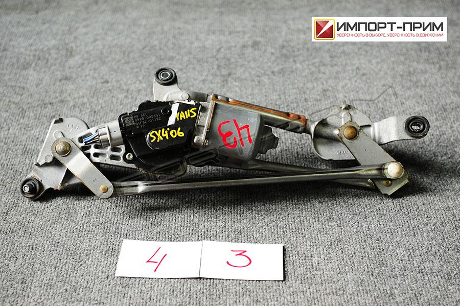 Мотор привода дворников Suzuki SX4 YA11S M15A Фото 1