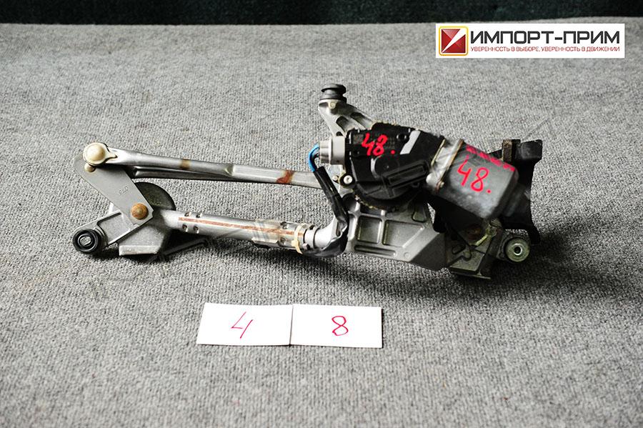 Мотор привода дворников Toyota VOXY ZRR70 3ZRFE Фото 1