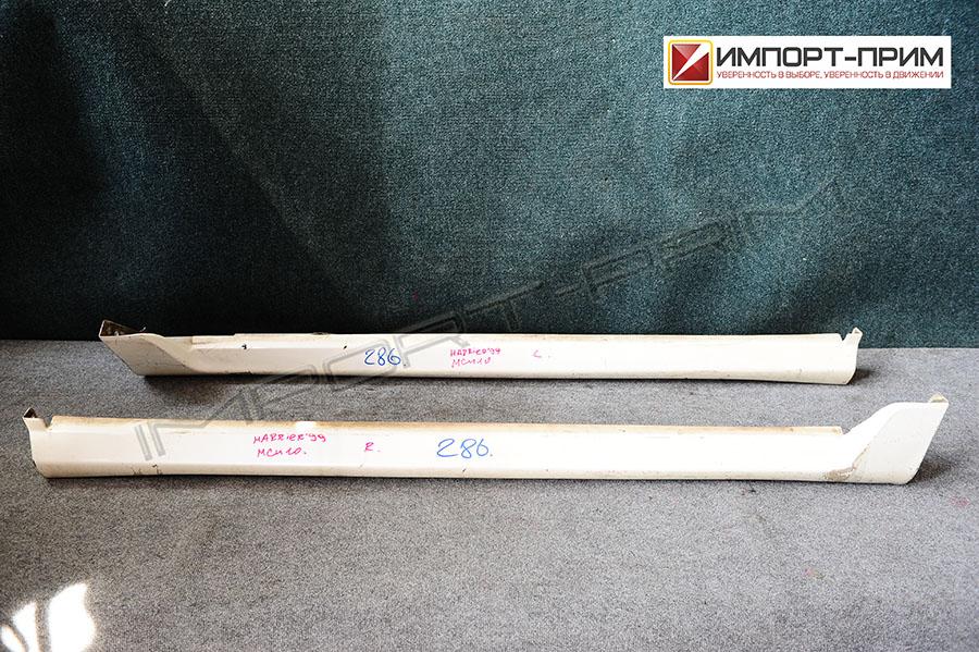 Порог кузова пластиковый ( обвес ) Toyota HARRIER MCU10 1MZFE Фото 1