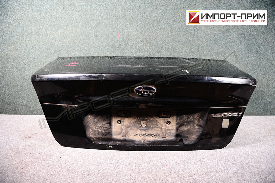 Крышка багажника Subaru LEGACY BL5 EJ20T Фото 1