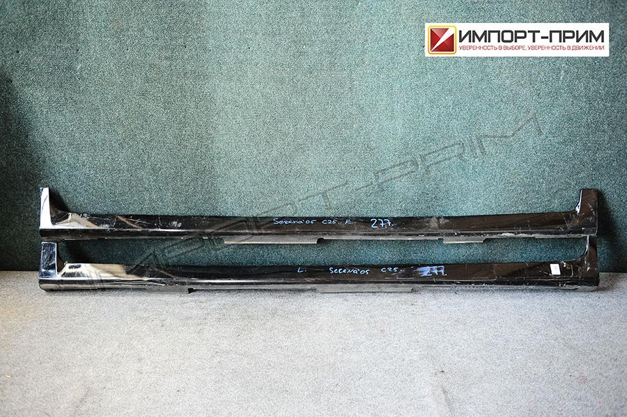 Порог кузова пластиковый ( обвес ) Nissan SERENA C25 MR20DE Фото 1