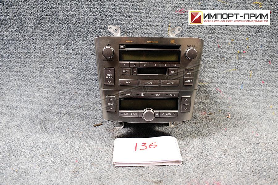 Блок управления климатконтроля Toyota AVENSIS AZT250 1AZFSE Фото 1