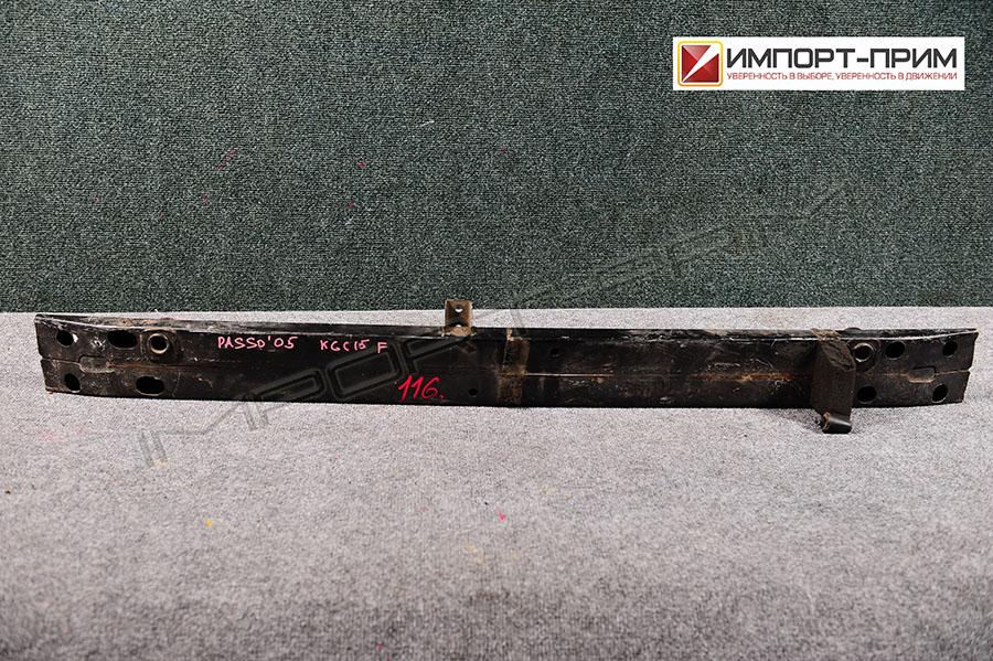 Жесткость бампера Toyota PASSO KGC15 1KRFE Фото 1